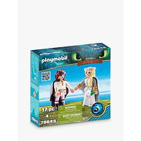 Playmobil Dragons 70045 Astrid and Hiccup Play Set