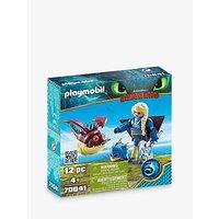 Playmobil Dragons 70041 Astrid With Hobgobbler Play Set