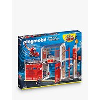 Playmobil City Action 9462 Fire Station Fire Alarm