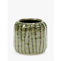 Serax Ribs Pot, Swamp Green