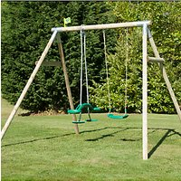 TP Toys Crecy Wooden Swing Set