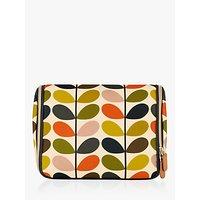 Orla Kiely Stem Print Hanging Wash Bag, Multi