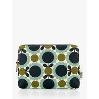 Orla Kiely Scallop Flower Spot Cosmetic Bag, Multi
