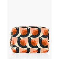 Orla Kiely Dove Medium Wash Bag, Multi