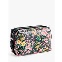 J.crew Dopp Small Floral Canvas Wash Bag, Peony Sun