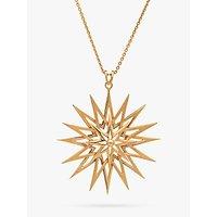 shop for Rachel Jackson London Long Rock Star Pendant Necklace, Gold at Shopo