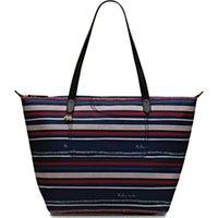 Radley Speckle Stripe Large Shoulder Bag, Ink