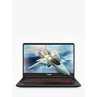 """ASUS TUF FX705GE-EW096T Laptop, Intel Core i7 Processor, 8GB RAM, GeForce GTX 1050Ti, 1TB HDD + 128GB SSD, 17.3"""" Full HD, Black"""