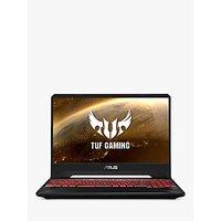 """ASUS TUF FX505GE-BQ159T Laptop, Intel Core i7 Processor, 8GB RAM, 1TB HDD + 128GB SSD, 15.6"""" Full HD, Black"""