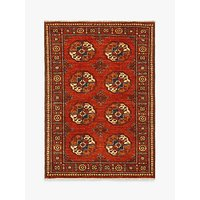 shop for Gooch Luxury Hand Knotted Ersari Rug, Red at Shopo