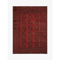 shop for Gooch Luxury Hand Knotted Afghan Elephant Rug, Red at Shopo