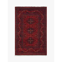 image-Gooch Luxury Hand Knotted Khal Mohammadi Rug, Red