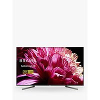 Sony Bravia KD55XG9505 LED HDR 4K Ultra HD Smart Android TV, 55 with Freeview HD & Youview, Black
