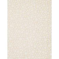 Oddies Textiles Snowflake Cotton Fabric, Natural/white