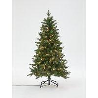 John Lewis & Partners Newington Pre-lit Christmas Tree, 5ft