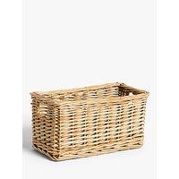 Croft Collection Wicker Storage Basket, Small