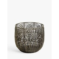 John Lewis and Partners Open Weave Rattan Basket