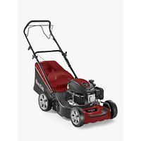 Mountfield SP42 Self-Propelled Petrol Lawn Mower, 42cm, Red/Grey