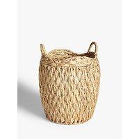 John Lewis and Partners Country Round Water Hyacinth Storage Basket