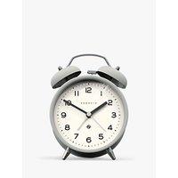 image-Newgate Clocks Charlie Twin Bell Echo Analogue Alarm Clock