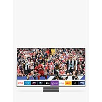 Samsung QE55Q90R (2019) QLED HDR 2000 4K Ultra HD Smart TV, 55 with TVPlus/Freesat HD, Carbon Silver