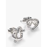 shop for kate spade new york Loves Me Knot Stud Earrings at Shopo