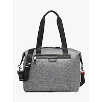 Storksak Stevie Luxe Changing Bag, Grey Marl Scuba