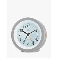 image-Acctim Elliot Modern Smartlite Analogue Alarm Clock, Grey