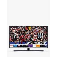 Samsung UE43RU7400 HDR 4K Ultra HD Smart TV, 43 with TVPlus, Titan Gray