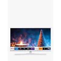 Samsung UE43RU7410 HDR 4K Ultra HD Smart TV, 43 with TVPlus, White