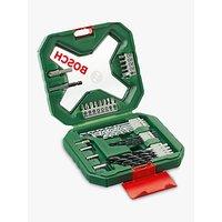 Bosch Mixed X-line Drill and Screwdriver Bits Set, 34 Pieces