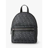 Dkny Casey Nylon Logo Backpack, Black