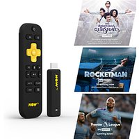 NOW TV Smart Stick with HD, Voice Search, 1 Month Entertainment, 1 Month Sky Cinema & 1 Day Sports Passes