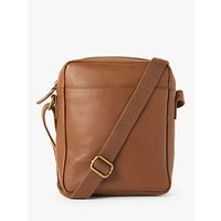shop for John Lewis & Partners Turin Leather Reporter Bag at Shopo