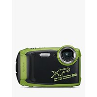 Fujifilm XP140 Waterproof, Freezeproof, Shockproof, Dustproof Digital Compact Camera with 5-25mm OIS Lens, 4K Ultra HD, 16.4MP, 5x Optical Zoom, Wi-Fi, Bluetooth, 3 LCD Screen