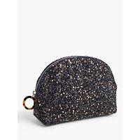 John Lewis & Partners Glitter Makeup Bag