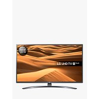 LG 65UM7400PLB LED HDR 4K Ultra HD Smart TV, 65 with Freeview Play/Freesat HD, Ultra HD Certified, D