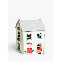 John Lewis & Partners The Grove Wooden Doll's House with Furniture