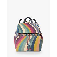 shop for Paul Smith Small Leather Backpack, Swirl at Shopo