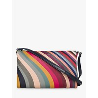 shop for Paul Smith Leather Pochette Pouch Bag, Swirl at Shopo