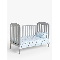 John Lewis & Partners Transport Print Cotbed Duvet Cover and Pillowcase Set