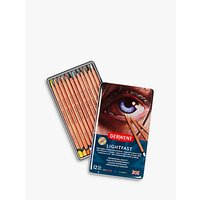 Derwent Lightfast Coloured Pencils, Pack of 12