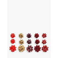 John Lewis & Partners Traditions Gift Bows, Pack of 15