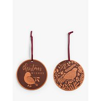 John Lewis & Partners Campfire Birds Gift Tags, Pack of 6