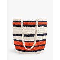 shop for hush Seville Woven Stripe Shoulder Bag, Natural/Multi at Shopo