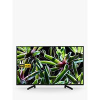 """Sony Bravia KD49XG7093 LED HDR 4K Ultra HD Smart TV, 49"""" with Freeview Play, Black"""