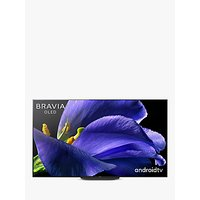 Sony Bravia KD77AG9 (2019) OLED HDR 4K Ultra HD Smart Android TV, 77 with Freeview HD, Youview, and Acoustic Surface Audio+, Black
