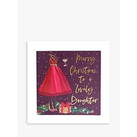 Belly Button Designs Dress Lovely Daughter Christmas Card