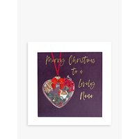 Belly Button Designs Bauble Nana Christmas Card