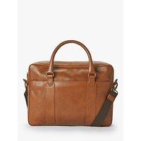 shop for John Lewis & Partners Edinburgh Leather Briefcase at Shopo